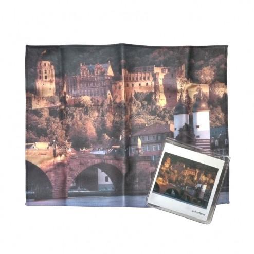 """Brillentuch """"Schloss Heidelberg"""""""