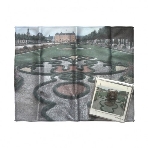 """Brillentuch """"Schloss Schwetzingen"""" Gartenanlage"""