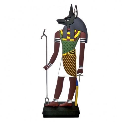 "ägyptische Götterfigur ""Anubis"""