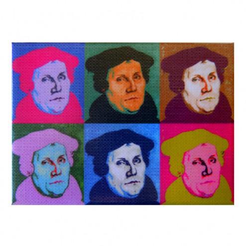 """Magnet """"Martin Luther"""" Pop-Art"""