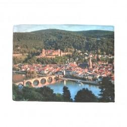 """Brillentuch """"Altstadt Heidelberg"""" vierfarbig"""
