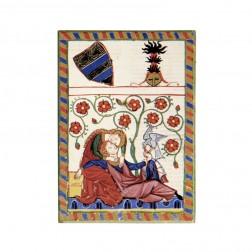 """Magnet """"Konrad von Altstetten"""", Codex Manesse"""