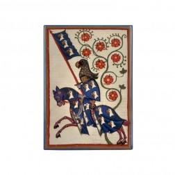 """Magnet """"Hartmann von Aue"""", Codex Manesse"""