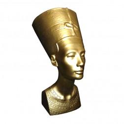 """Figur """"Nofretete"""" gold"""