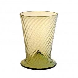 Frühbarockglas mit optischem Spiraleffekt