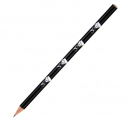 """Bleistift """"Nofretete"""" schwarz mit weiß"""