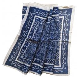 "Modal scarf ""Katharina Bora"" blue"