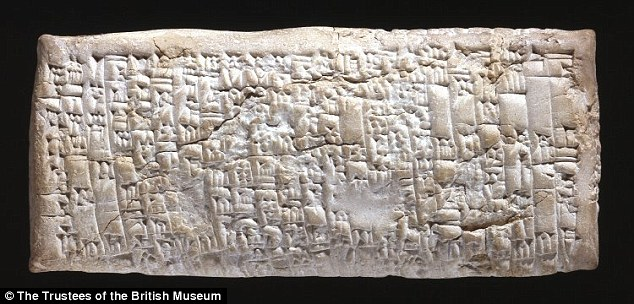 An intricate tablet (pictured), thought to be the world's oldest complaint 'letter' was written by a disappointed customer from ancient Babylonia. The story goes that a merchant named Ea-nasir journeyed to the Persian Gulf to buy copper to sell in Mesopotamia. This included ingots for Nanni, who sent his servant to pay for them.
