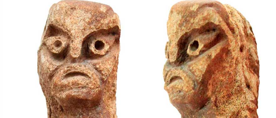 'We can say that this figurine is unique, as nothing identical has been found so far. Picture: Pavel German & Vladimir Bobrov
